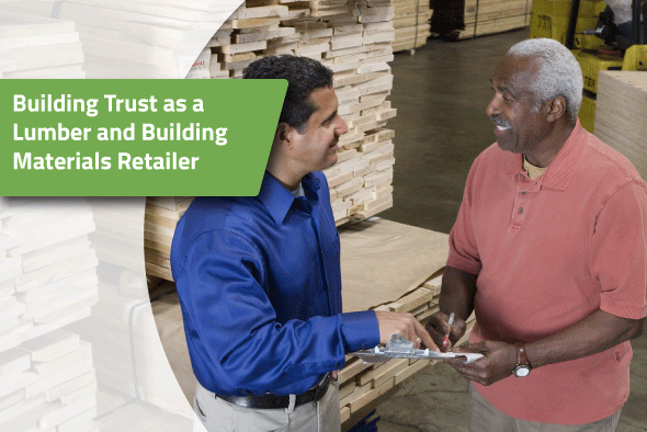Lumber and Building Material (LBM) retailers ordering online