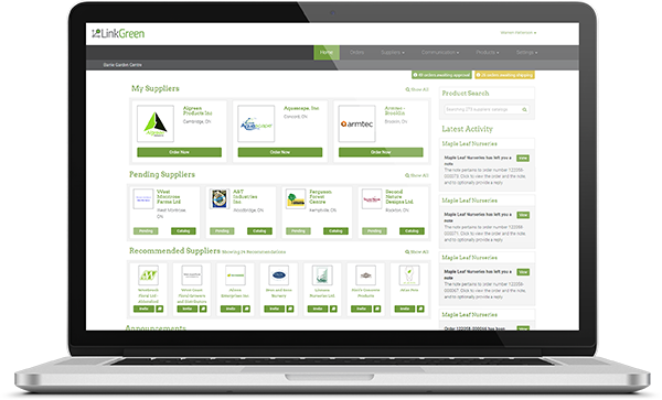 Linkgreen Connect Buyers and Suppliers Platform