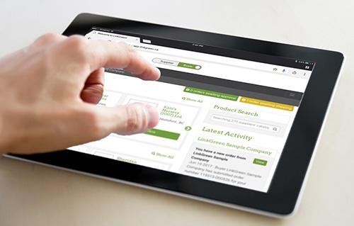 LinkGreen Online Ordering Management Process