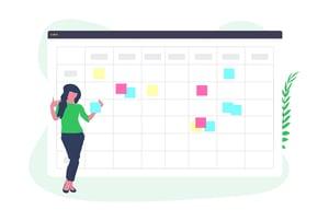 Blogging Scheduling